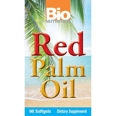 Bio Nutrition Red Palm Oil Caps - 90 Ct