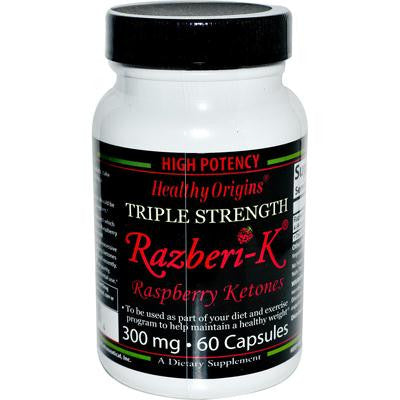 Picture of Healthy Origins Raspberry Ketones - 300 mg - 60 Ct