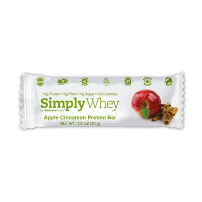 Picture of Simply Choices Whey Bars - Apple Cinnamon - 40 grm - Case of 12