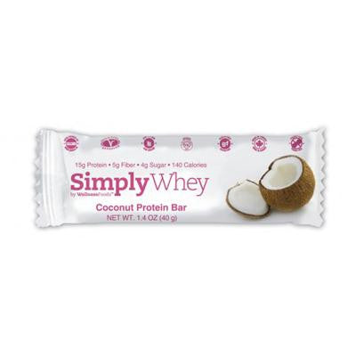 Picture of Simply Choices Whey Bars - Coconut - 40 grm - Case of 12