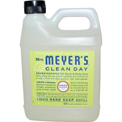 Picture of Mrs. Meyer's Liquid Hand Soap Refill - Lemon Verbena - 33 lf oz