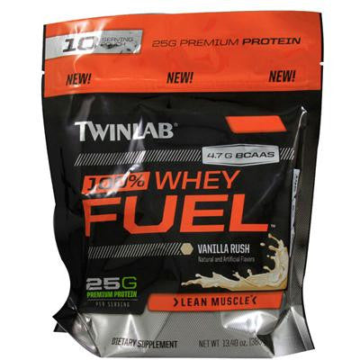 Picture of Twinlab 100% Whey Fuel - Vanilla - 10 Servings - 13.4 oz