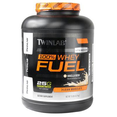 Picture of Twinlab 100% Whey Fuel - Vanilla - 5 lbs