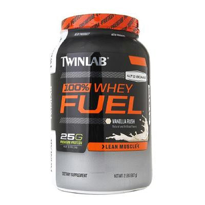 Picture of Twinlab 100% Whey Fuel - Vanilla - 2 lbs