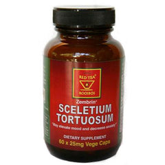 African Red Tea Imports Zembrin Sceletium Tortuosum - 25 mg - 60 Vcaps