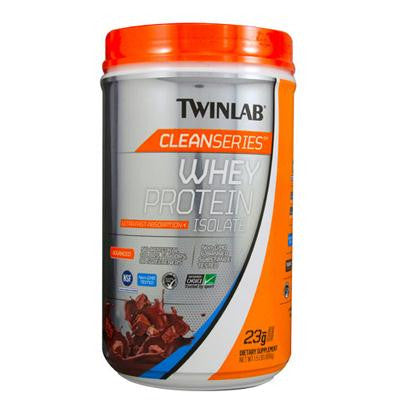 Picture of Twinlab Cleanseries Whey Protein Isolate - Chocolate - 1.5 lb