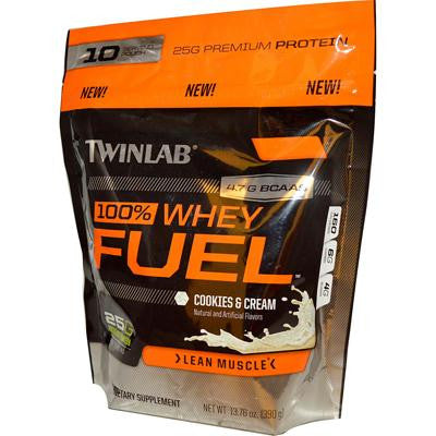 Picture of Twinlab 100% Whey Fuel - Cookies and Creme - 13.76 oz