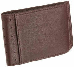 Slim Bi-fold Wallet Brown Leather