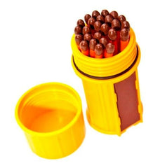Match Container w/25 Matches - Yellow