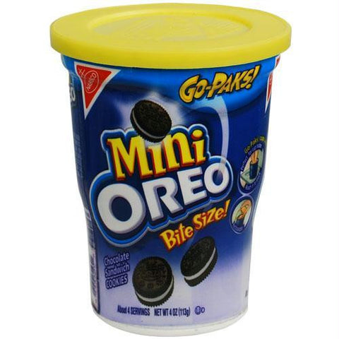 Picture of Mini Oreos Cookies Go-Paks Safe Can