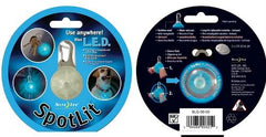 SpotLit Blue L.E.D. Carabiner Light