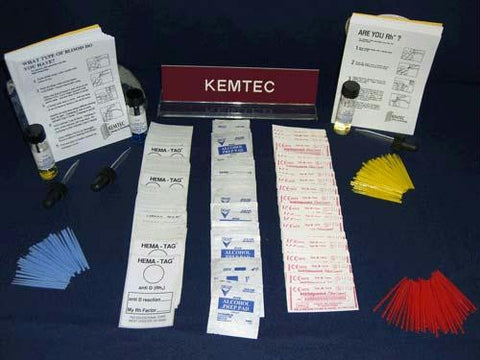 Picture of Basic Blood Typing Kit