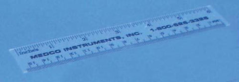 Picture of Clear Plastic Ruler