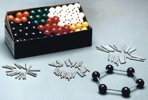 Picture of 100 Atom Wooden Molecular Model Kit