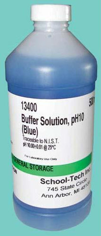 Picture of Buffer Solution, blue, ph 10.00 - 500ml