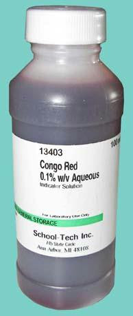 Picture of Congo red, indicator solution, 0.1% - 100ml