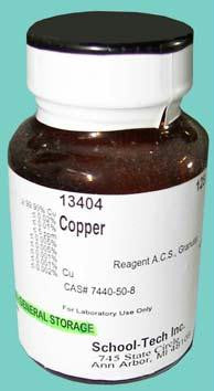 Picture of Copper Metal, reagent, granular - 125g