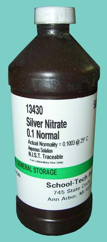 Picture of Silver nitrate solution, 0.1 normal - 500ml