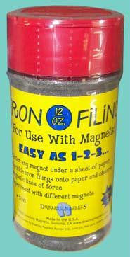 Picture of Iron Filings - 12 oz.
