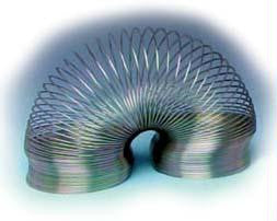 "Picture of Wave Demonstrator Spring (Flat Coiled) - 3"" x 4"""