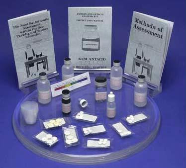 Picture of Aspirin & Antacid Analysis Kit