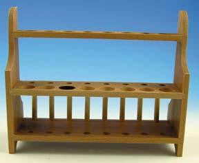 Picture of Wooden Test Tube Rack - 16 Hole