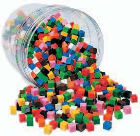 Picture of Centimeter Cubes - Set of 500