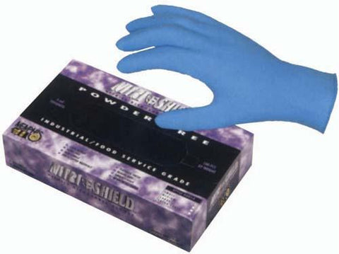 Picture of Nitrile Gloves - Large (Box or 100)