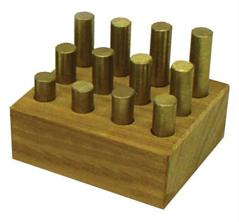 Picture of Brass Density Samples (Set of 12)