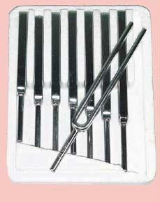 Picture of Tuning Fork Set (Steel) - Set of 8