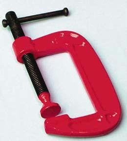 "Picture of C-Clamp - 4"" Jaw Opening"