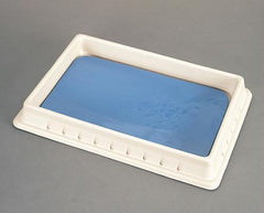 "Standard Poly Pan (11.5"" x 7.5"") with Disecto-Flex Pad"
