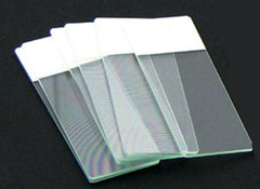 Color Coded Microscope Slides - White