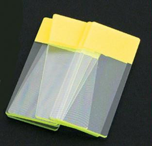 Picture of Color Coded Microscope Slides - Yellow
