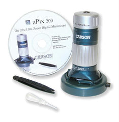 "zPix"" 200 Digital Microscope with Digital Camera"