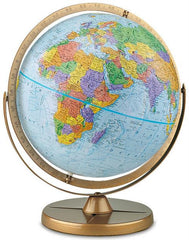 Political Table Globe