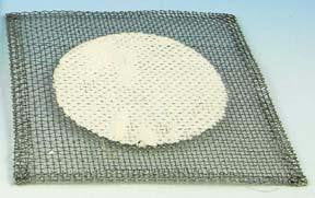 "Picture of 4"" x 4"" Wire Gauze - Ceramic"