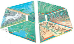 Deluxe Landform Model (painted)