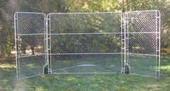 Portable Backstop with Side Panels