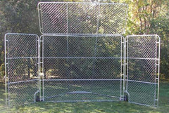 Portable Backstop with Top & Side Panels