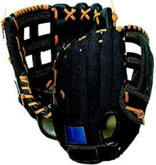 "12"" Leather/Nylon Mesh Glove - Right Handed"