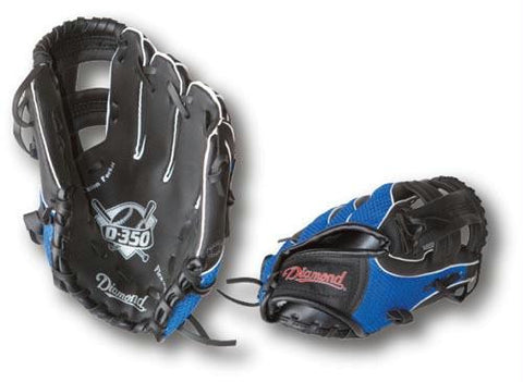 "Picture of 10"" Diamond Baseball Glove- Fits Left Hand"