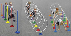 "Action Domes"" with Obstacle Kit"