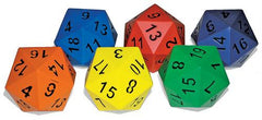 20-Sided Foam Dice