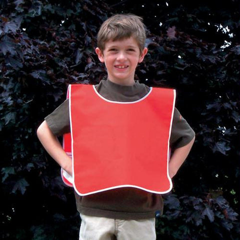 Picture of Slip-Over Vinyl Cape - Red (Small)