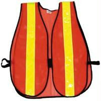 Picture of High-Quality Mesh Reflective Vest - Orange