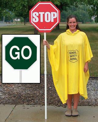 Picture of Stop/Go Sign w/o Lights