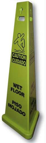 Picture of Tri-View_ 3-Sided Wet Floor Sign