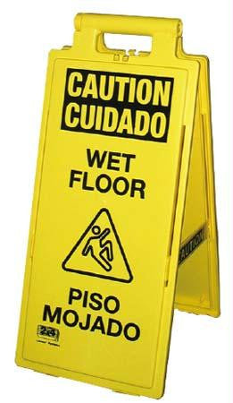 Picture of Spanish Wet Floor Sign
