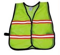 Picture of Economy Children's Mesh Vest - Lime (Small)